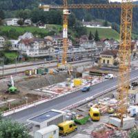 Parking Wattwil AG der Migros Ostschweiz Gde Wattwil SOB